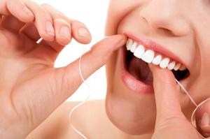 Зубная нить, гигиена зубов, уход за зубами