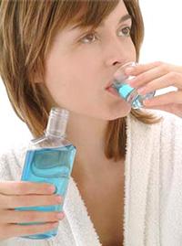 Полоскание зубов, гигиена полости рта